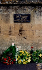 Wreathes at Levellers Day