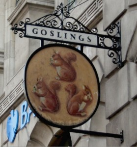 gosling sign in fleet street