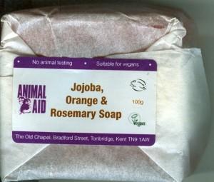 Animal aid soap
