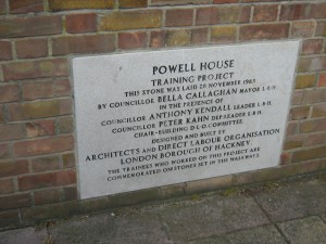Plaque Powell House