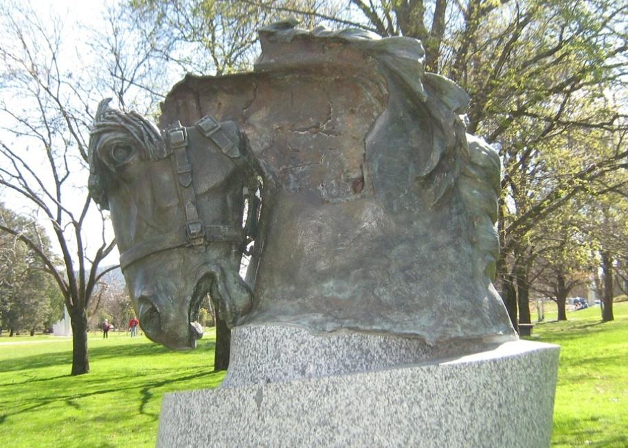 Animals in War memorial Canberra | Hilda Kean