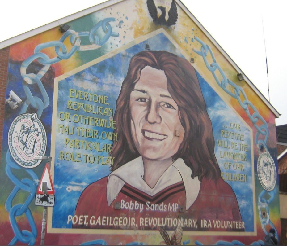 Images of different pasts in belfast 2013 hilda kean for Bobby sands mural
