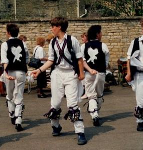 Former Levellers day Morris dancers