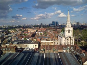 spitalfields from roof