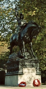 Adrian Jones' Cavalry Memorial Hyde Park