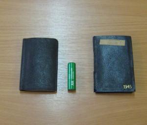 Tiny wartime diaries